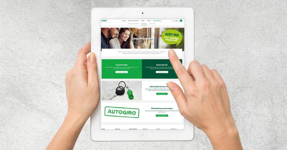 MedMera Bank Coop – gynnsamma lån och kort