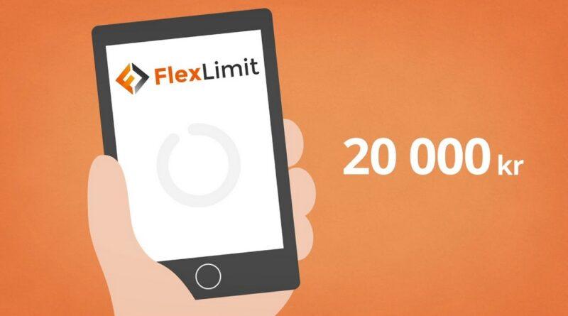 Låna upp till 20 000 kr med Flexlimit